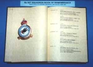 Photo of Book of Remembrance